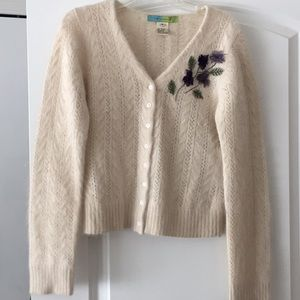 Beth Bowley angora sweater!